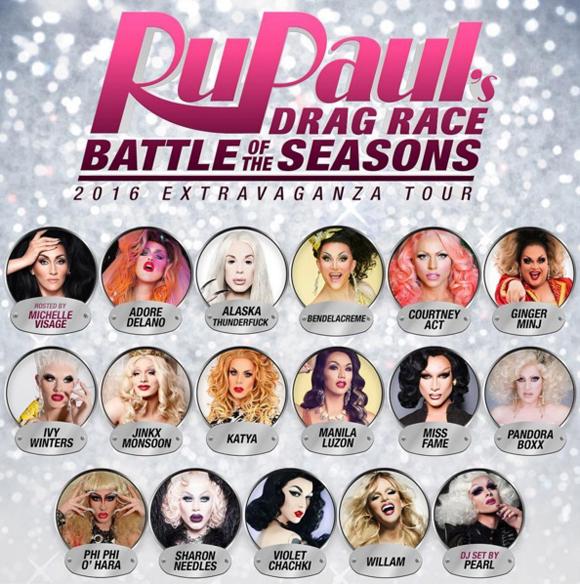 Les Queens de la télé-réalité RuPaul's Drag Race s'en viennent à Montréal