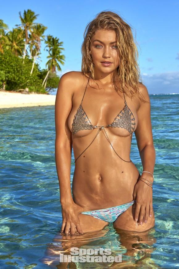 Le minuscule bikini de Gigi Hadid pour Sports Illustrated