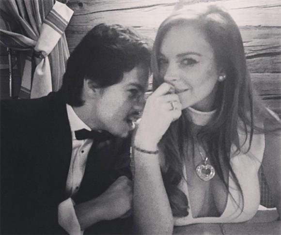 Le nouveau chum de Lindsay Lohan.