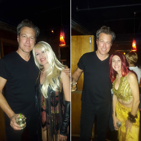 John Corbett, son drink et les filles du Boogie Wonder Band à New York
