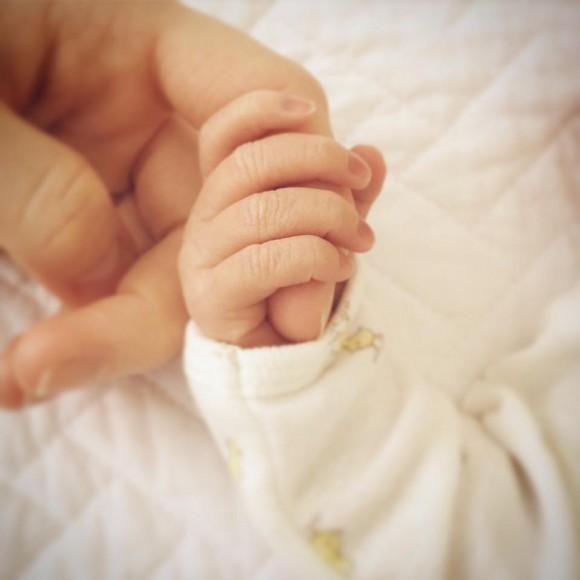Marie-Ève Janvier et Jean-François Breau ont eu leur bébé