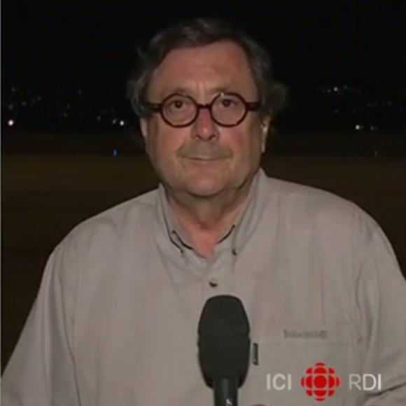 Le journaliste Raymond St-Pierre a été blessé pendant un reportage en Syrie