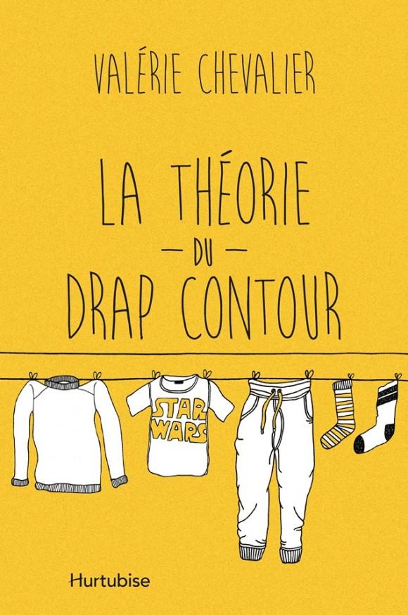 Valérie Chevalier dévoile la pochette de son nouveau livre La théorie du drap contour