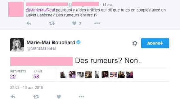 Marie-Mai est en couple avec le directeur musical de La Voix, David Laflèche - PRIMEUR
