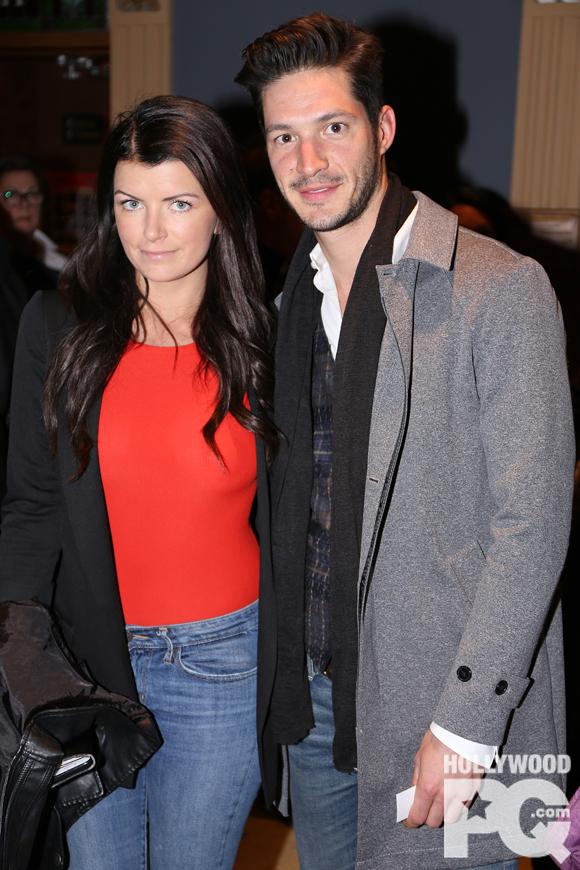 Kim Lizotte et Éric Bruneau