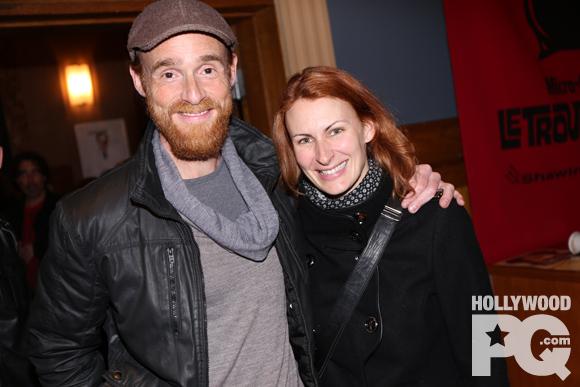 Vincent leclerc et Mélanie Pilon