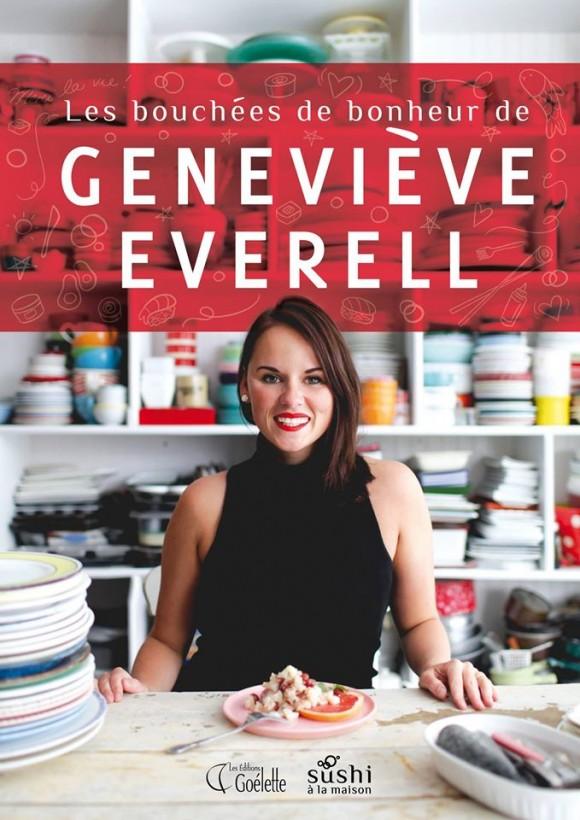 Geneviève Everell de Sushi à la maison présente son nouveau livre, Les bouchées de bonheur de Geneviève Everell