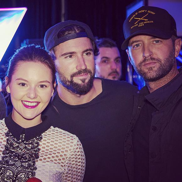 Brody Jenner au McLaren party du Ritz-Carlton - SPOTTED