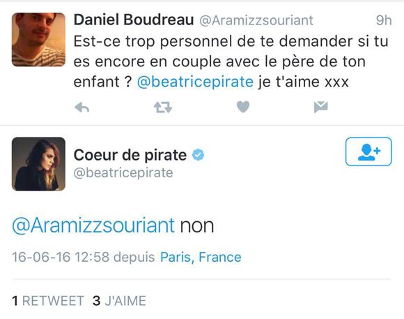 Coeur de pirate n'est plus en couple avec son mari Alex Peyrat