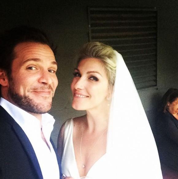 Ingrid Falaise et son conjoint Cédrik Reinhardt sont mariés