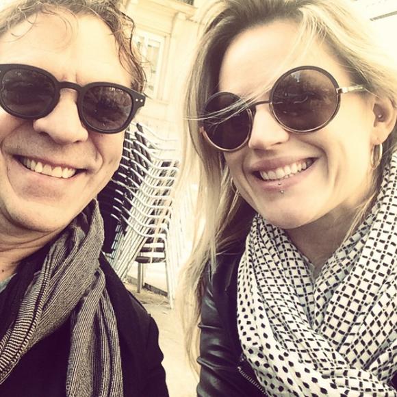 C'est ELLE, la nouvelle blonde de Marc Labrèche.