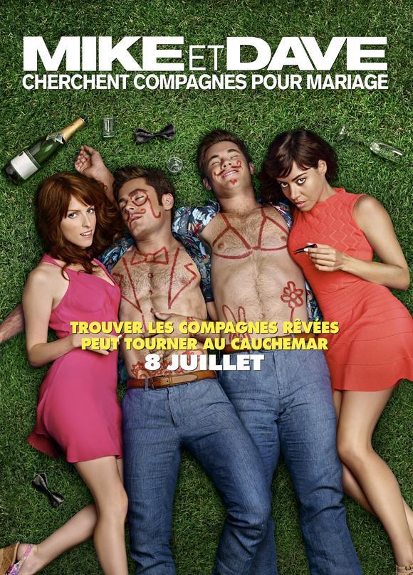 Zac Efron et Anna Kendrick dans Mike et Dave cherchent compagnes pour mariage - Bande-annonce