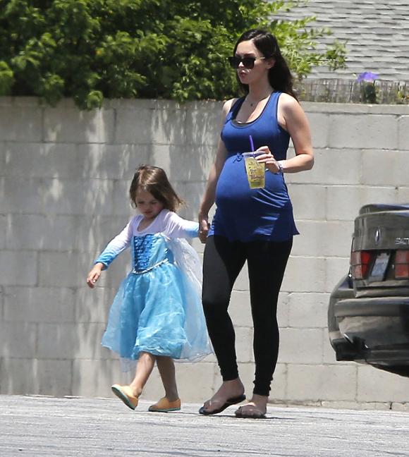 Megan Fox est à nouveau maman.