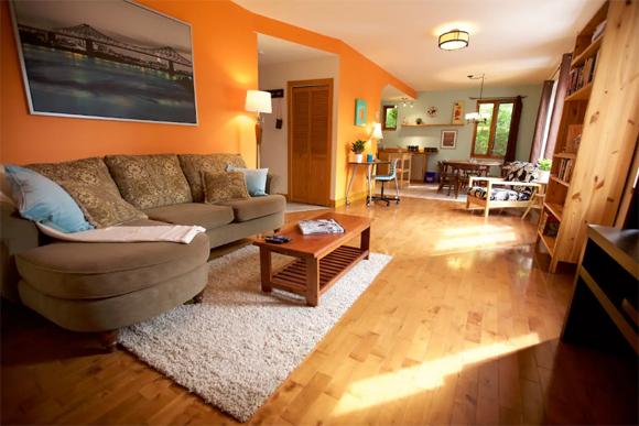 Mirianne Brûlé loue son appartement sur le Plateau sur Airbnb