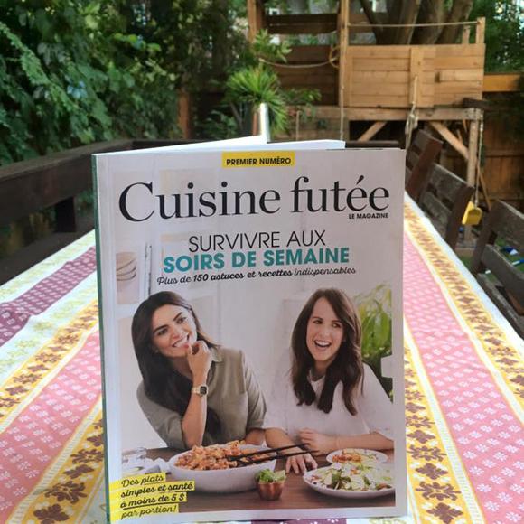 Le Nouveau Magazine De Cuisine Futee Est Devoile Hollywoodpq Com