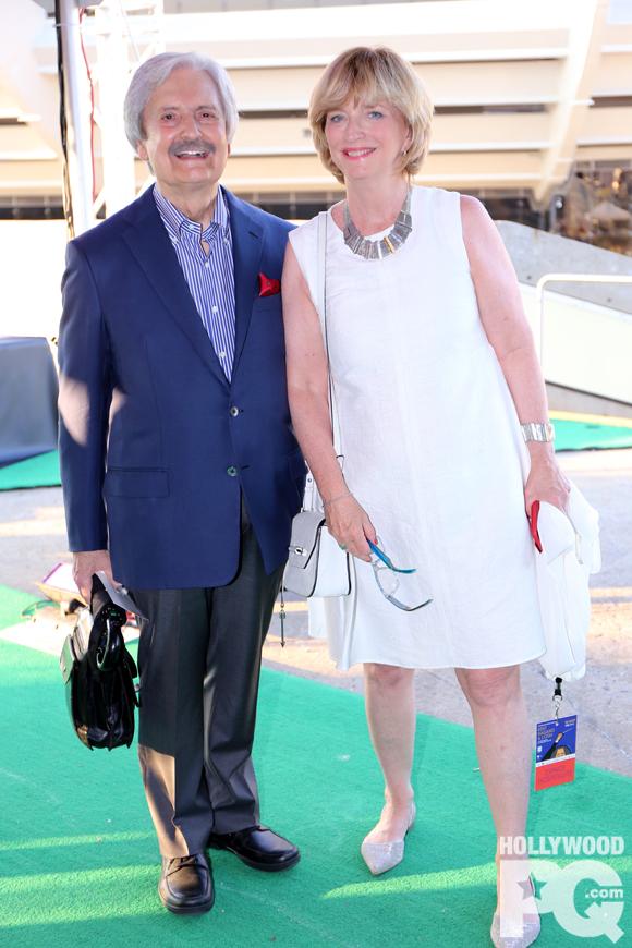 Anne-Marie Dussault et Marc Laurendeau sont mariés.