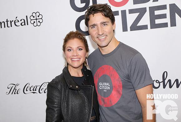 Justin Trudeau et Sophie Grégoire