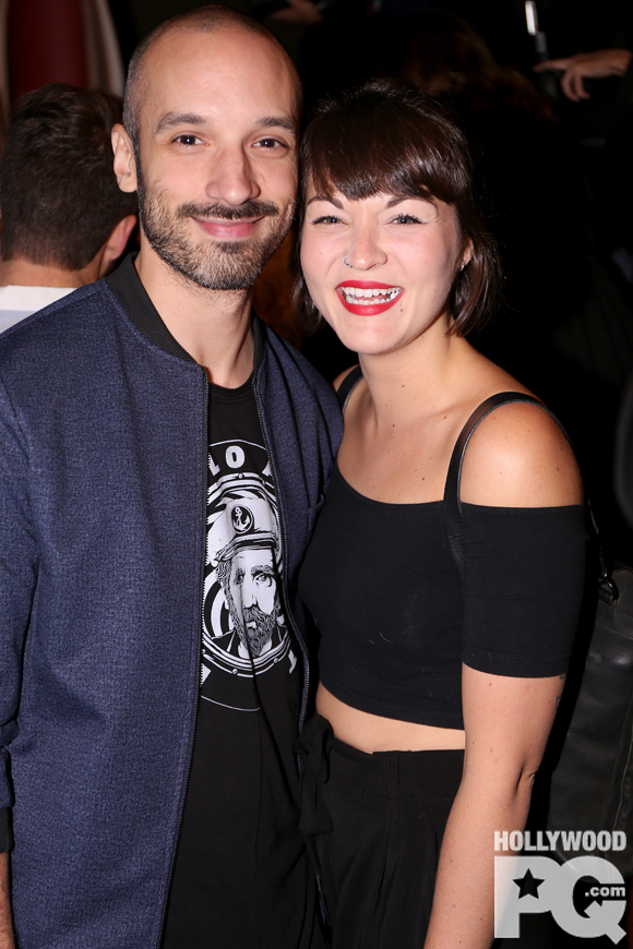 Guillaume Wagner et Mélanie Boulay