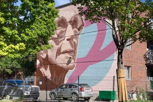 MU-Inauguration d-une nouvelle murale dans le Centre-Sud - MU re