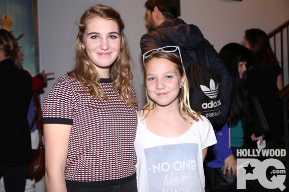Sophie Nélisse et Isabelle Nélisse