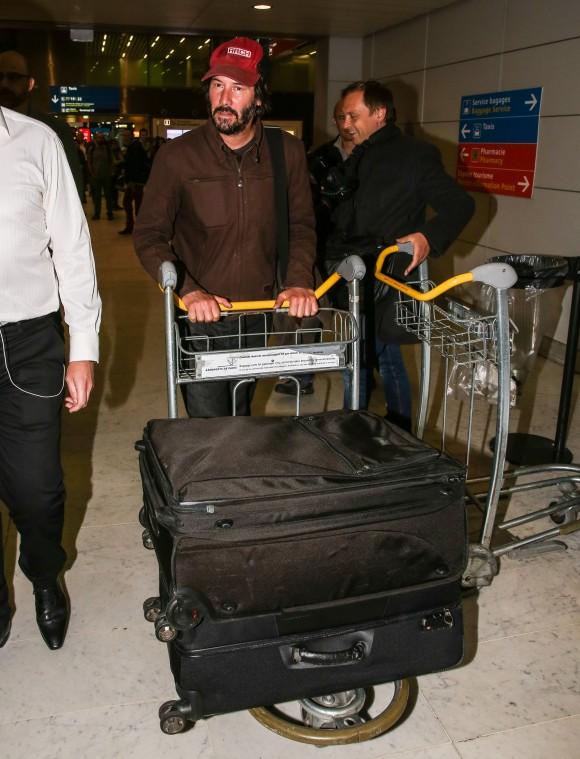 SPOTTED: Keanu Reeves est à Montréal