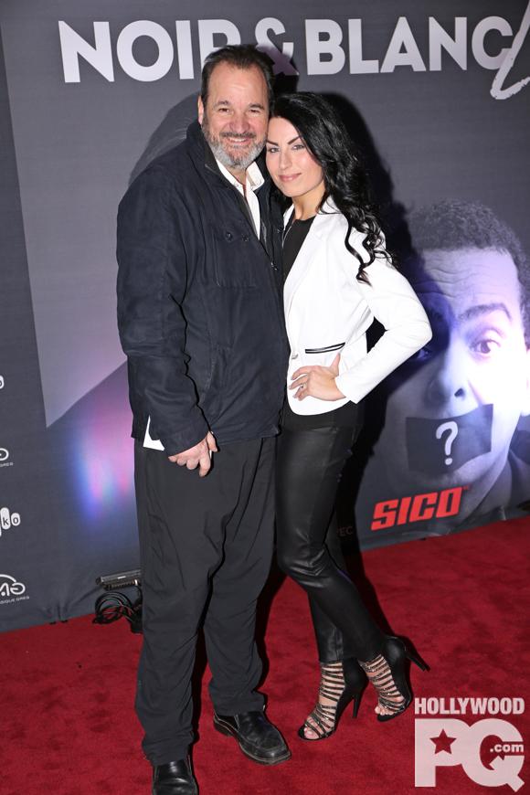 Paul Piché et sa femme