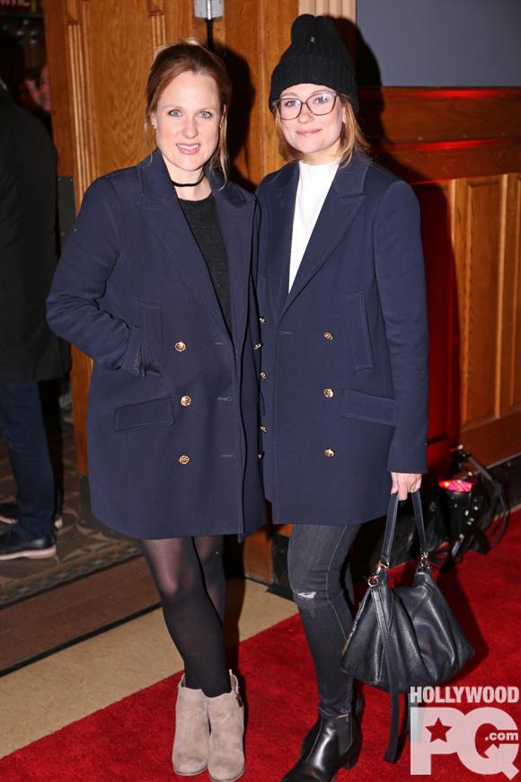 Marie Soleil Dion et Katherine Levac