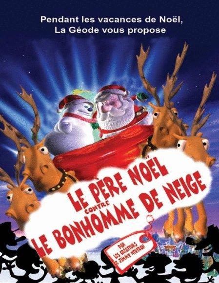 le-pere-noel-contre-le-bonhomme-de-neige