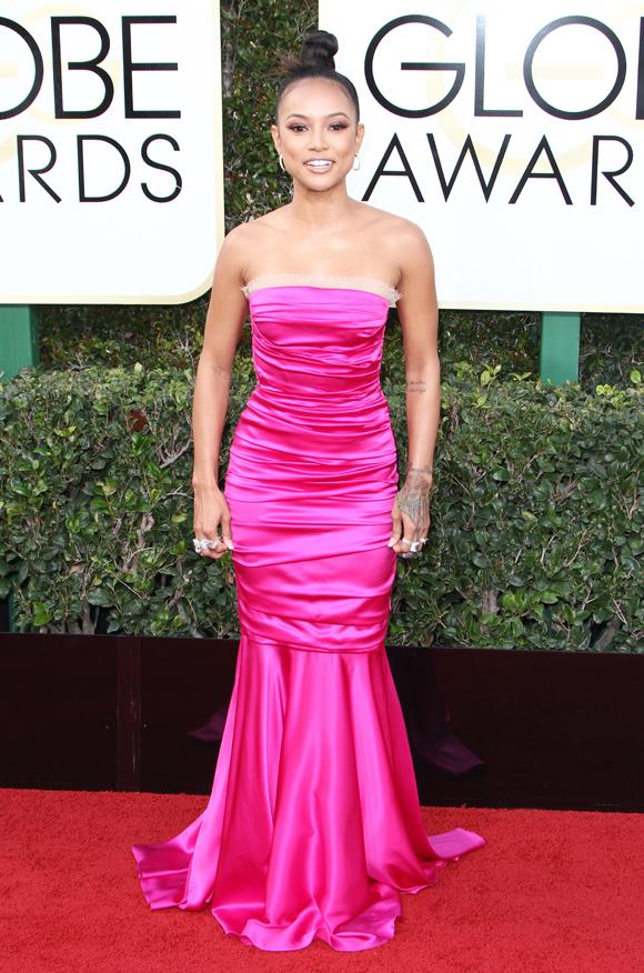 The 74th Annual Golden Globe Awards in LA