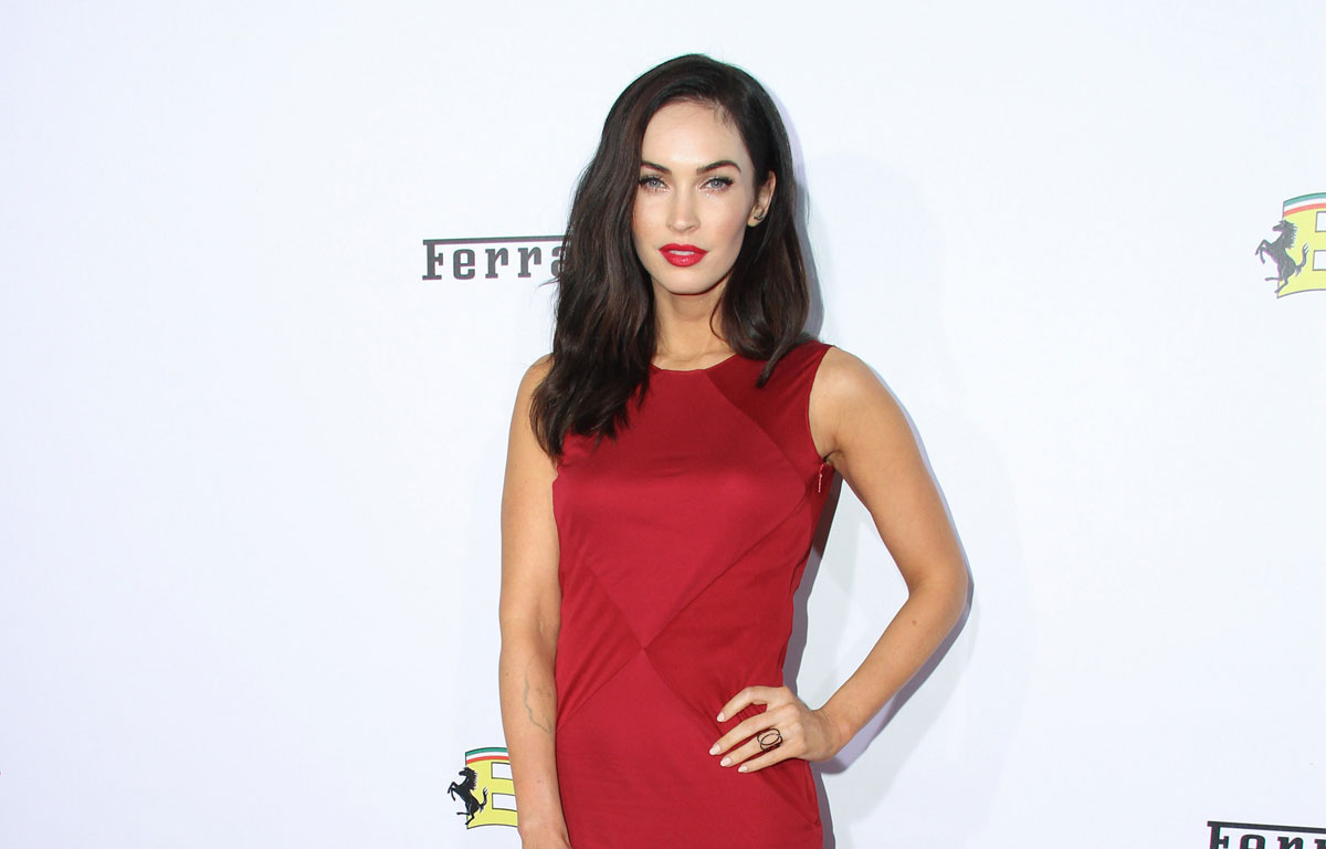 Robe mariee megan fox