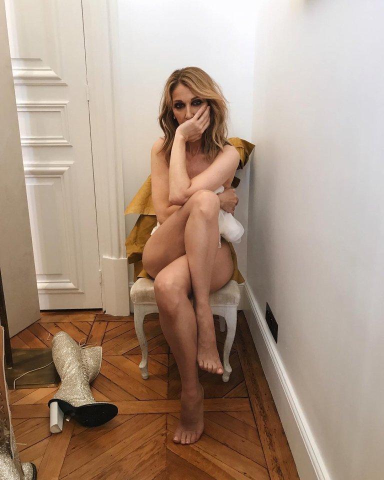 Céline Dion pose nue pour Vogue - ladepeche.fr