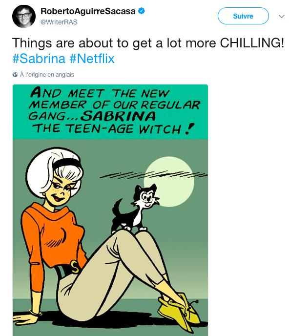 Netflix commande deux saisons pour Sabrina, spin-off horrifique de Riverdale