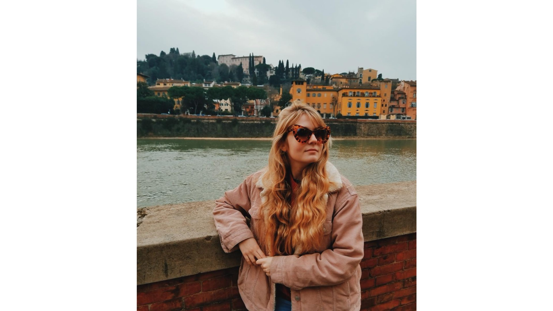 Rosalie Vaillancourt en vacances