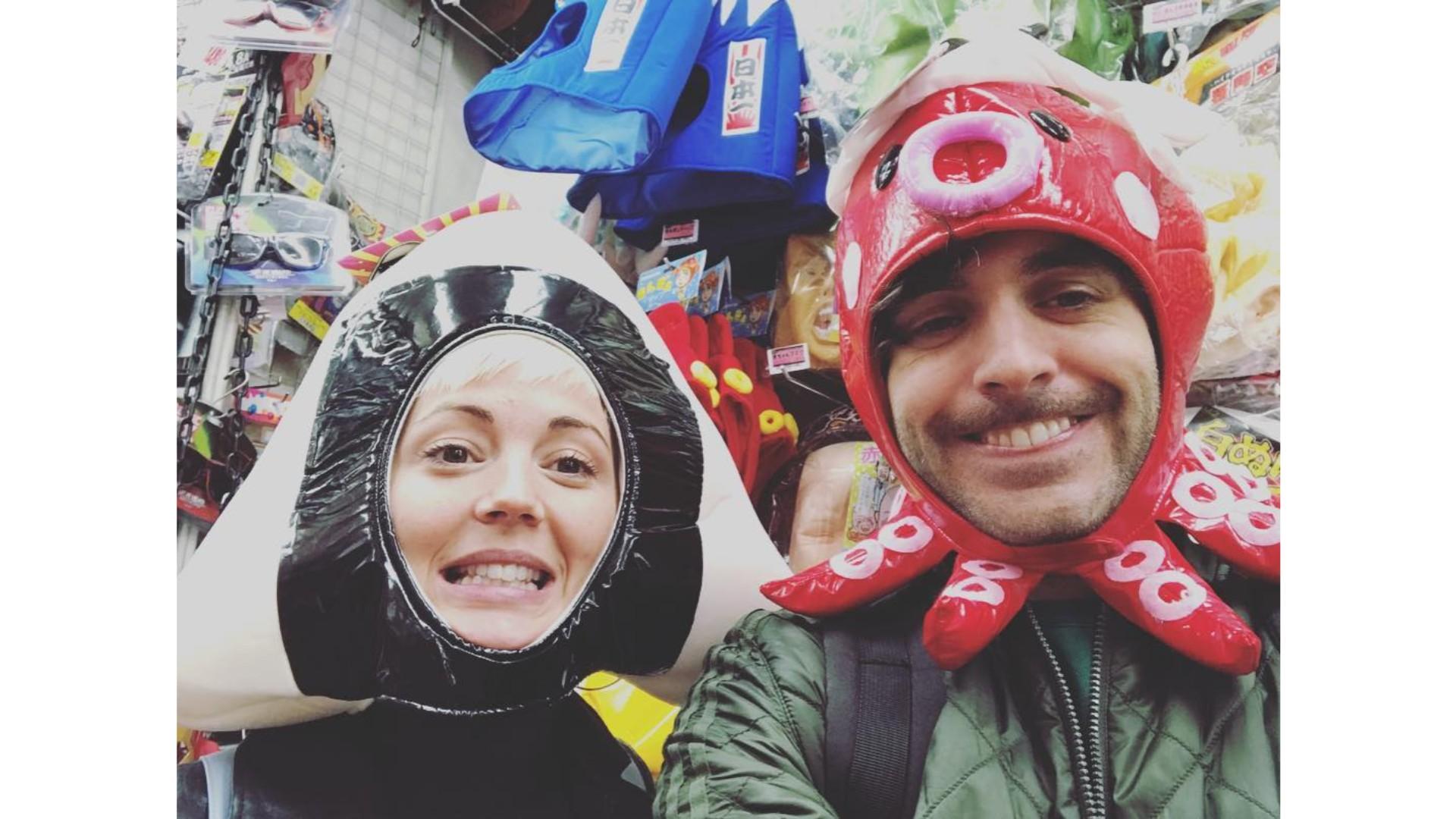 Alex et Vanessa au Japon