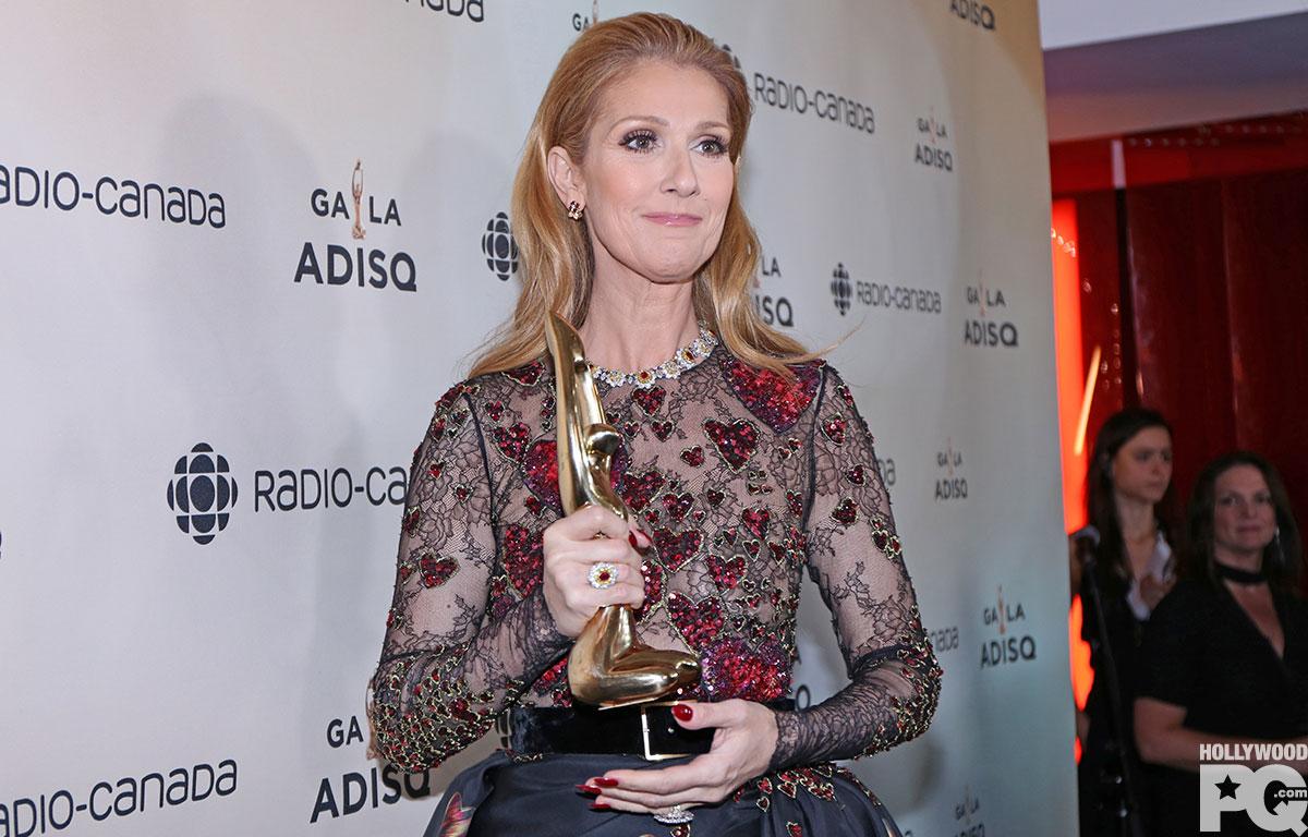 Une magnifique photo pour la fête de sa mère — Céline Dion
