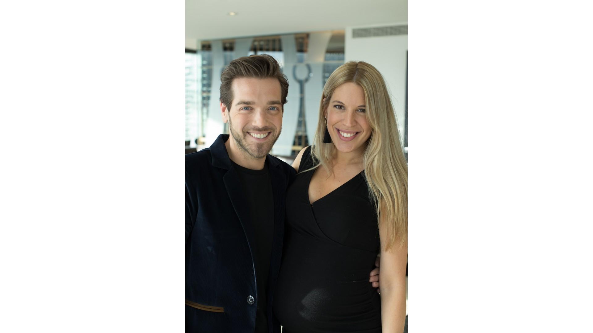 Jordan Dupuis et Anaïs Guertin-Lacroix