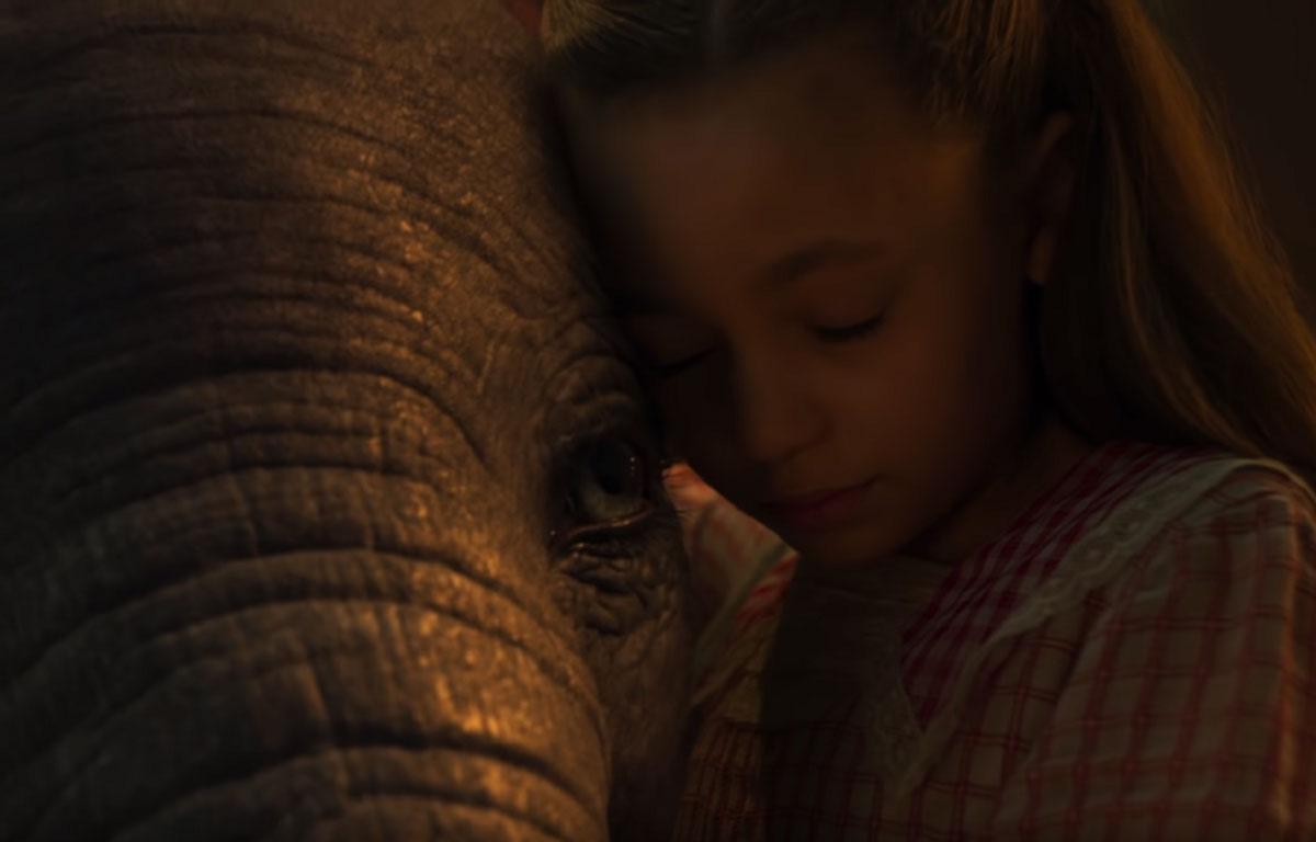 Dumbo, un film réalisé par Tim Burton, sortira en 2019