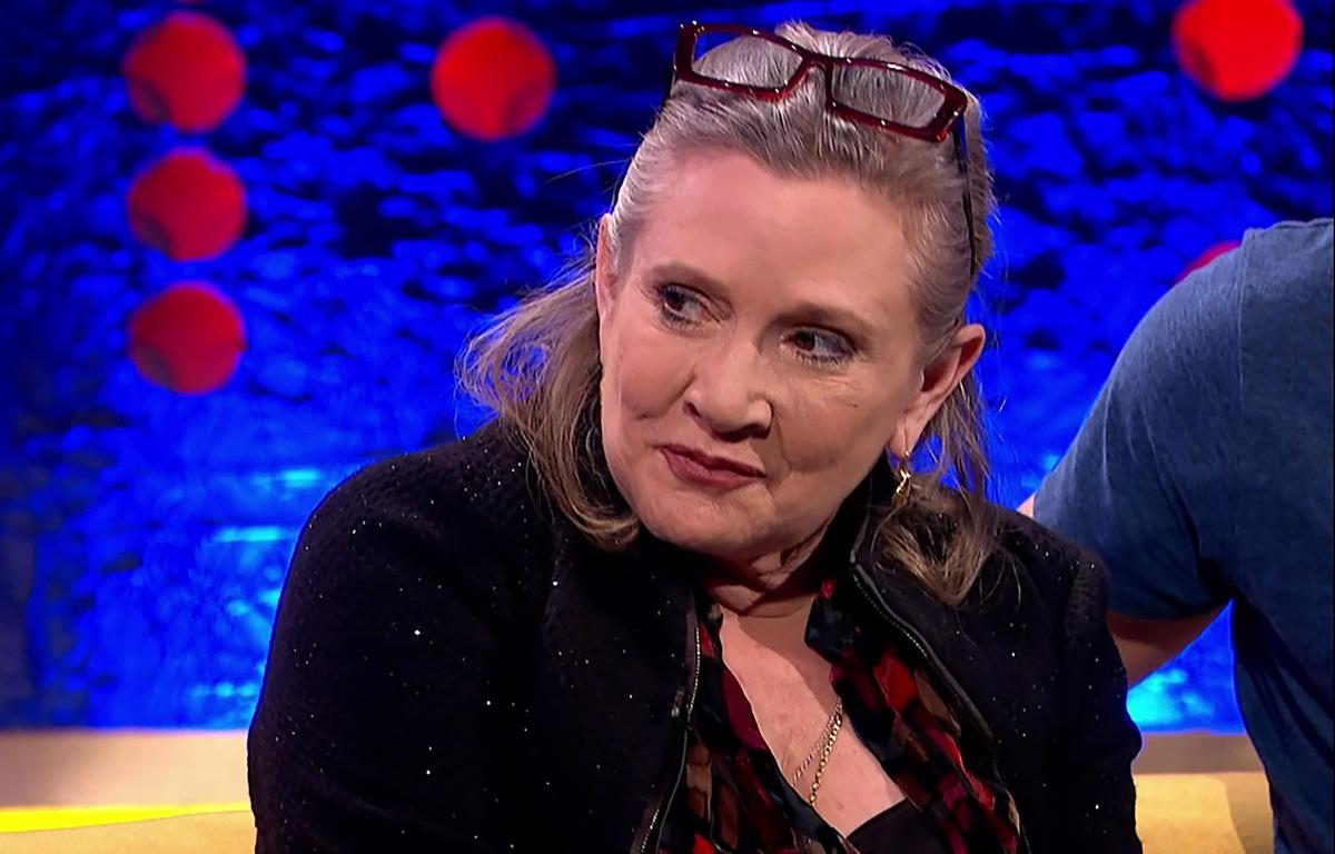 Carrie Fisher sera dans le prochain