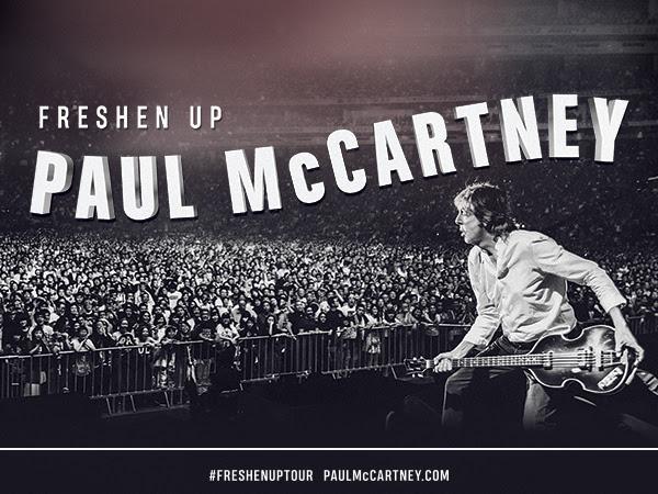 Paul McCartney à Québec en septembre