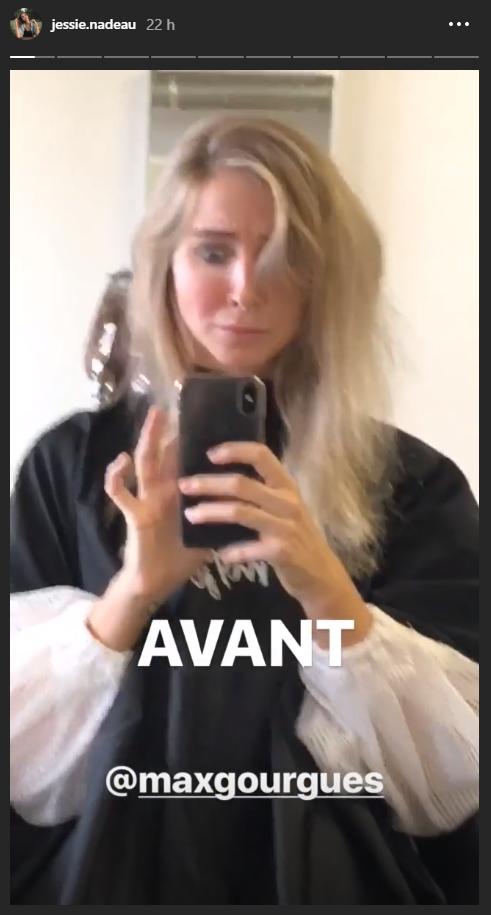 Jessie Nadeau colore ses cheveux de la tendance de l'été ...