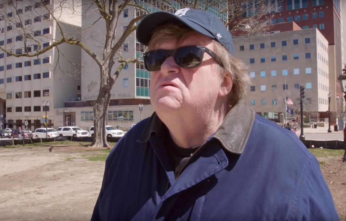 Michael Moore sort un film contre Donald Trump — USA