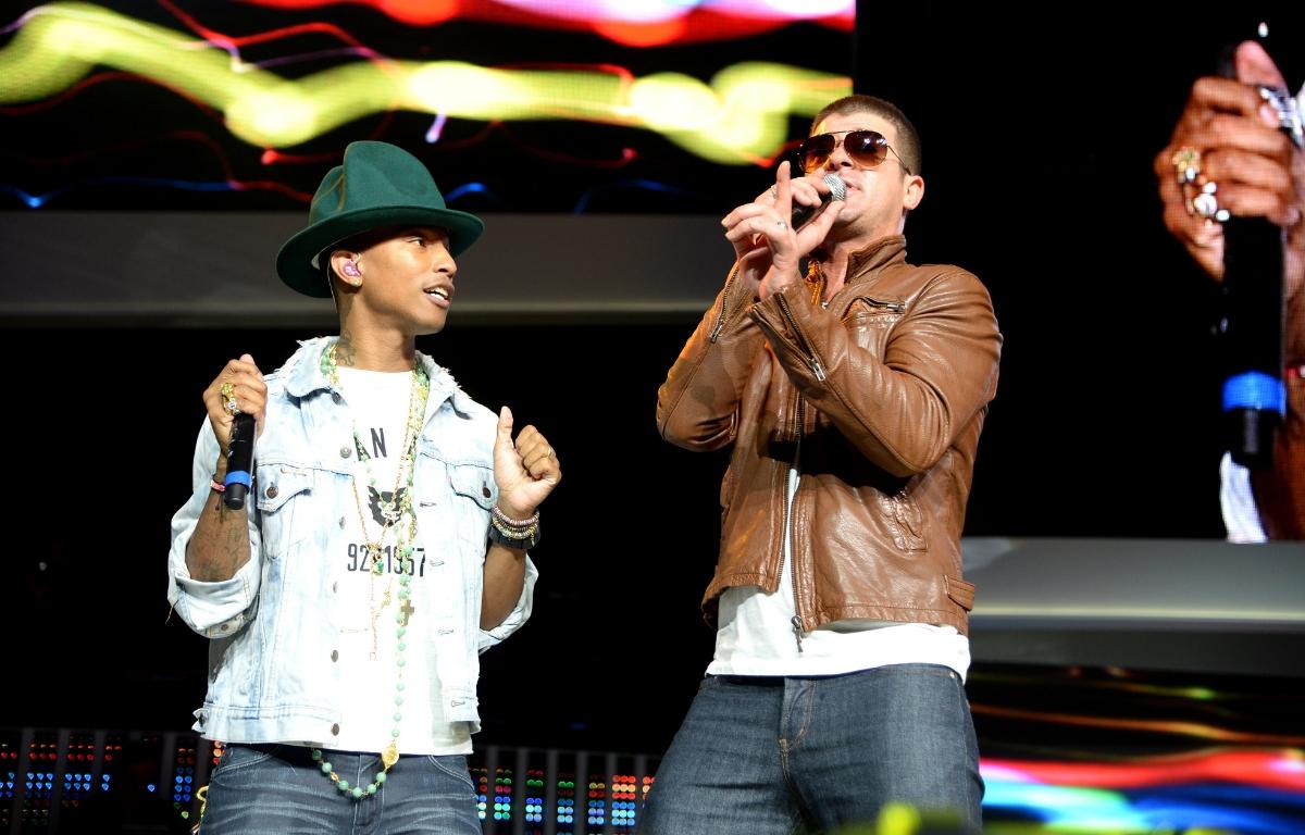 Robin Thicke et Pharrell Williams condamnés pour plagiat — Procès