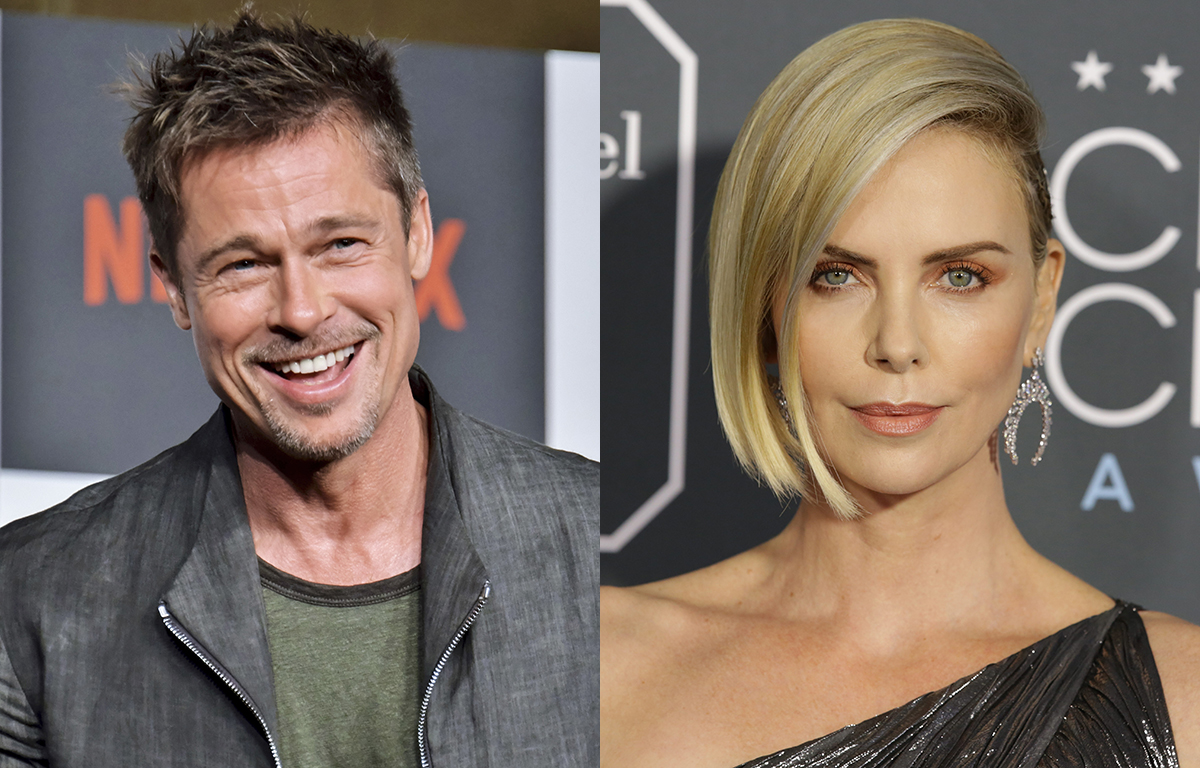 Brad Pitt en couple avec Charlize Theron — USA
