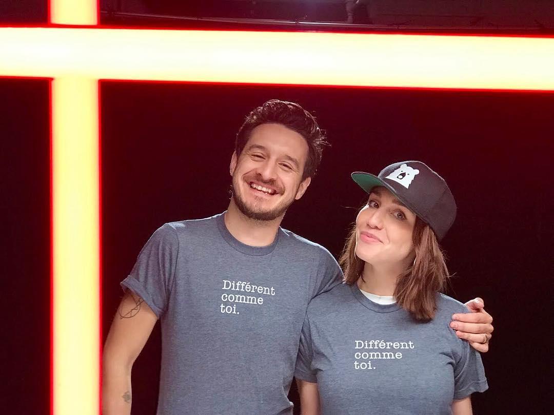 Sébastien Diaz et Bianca Gervais