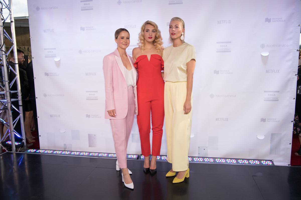Juliette Gosselin, Sophie Nélisse et Catherine St-Laurent
