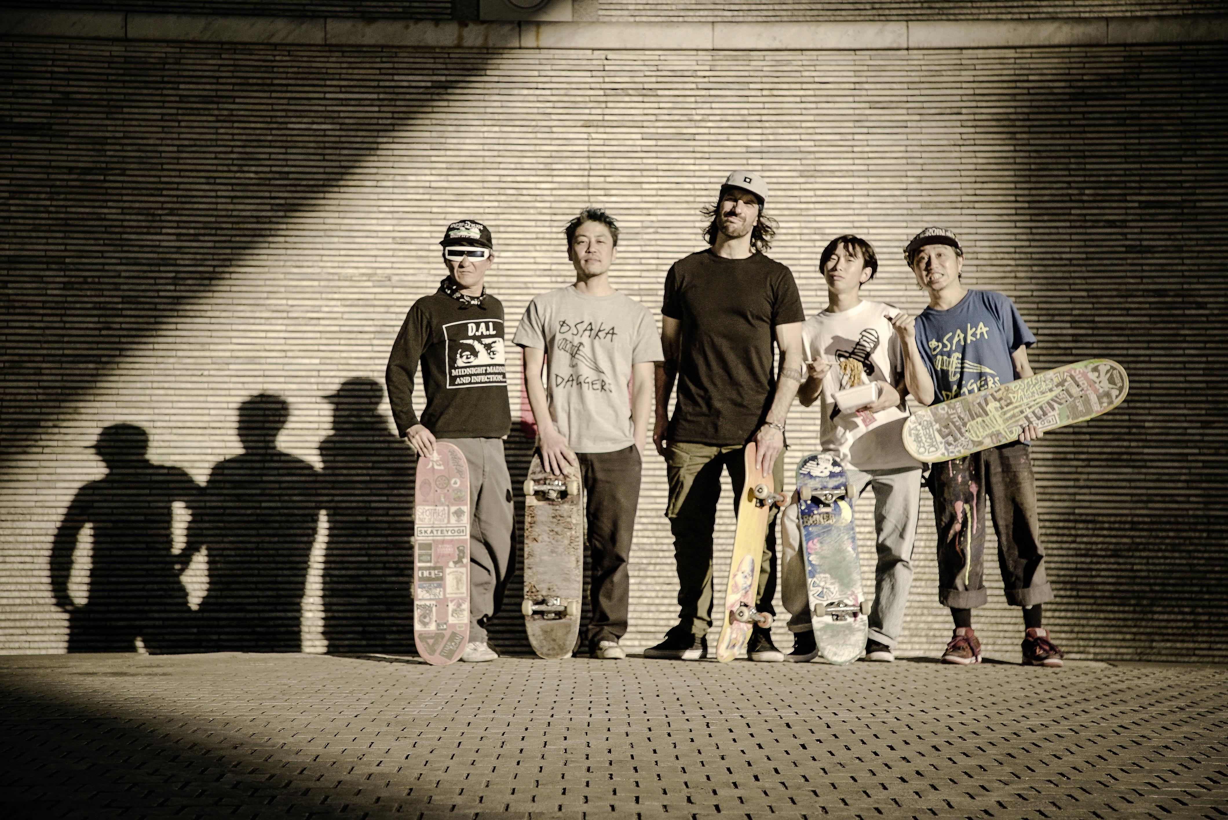 Skate le monde_Mathieu Cyr et les Osaka Daggers