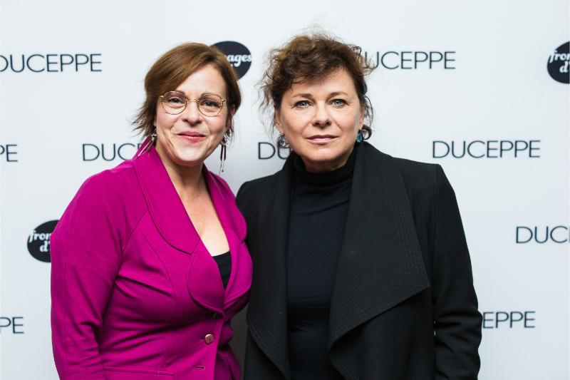 Maude Guérin et Martine Francke