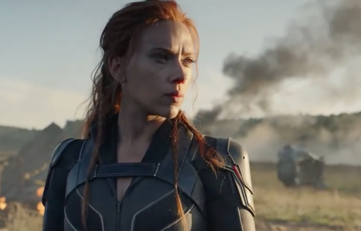 scarlet johansson dans Black Widow