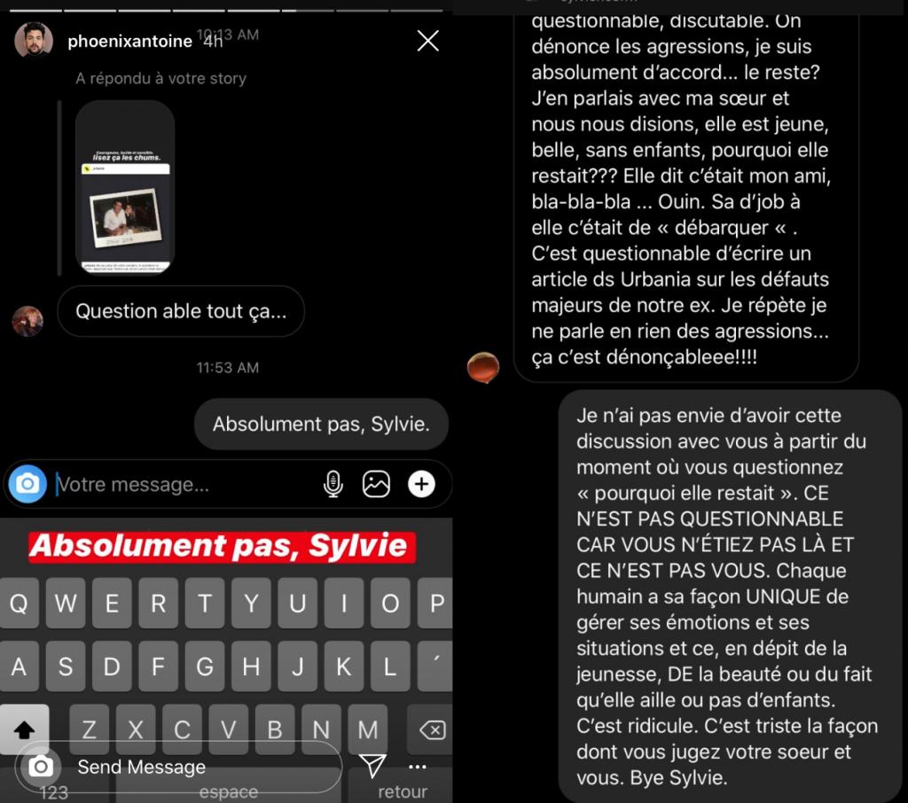 Félix-Antoine Tremblay confronte une internaute sur l ...