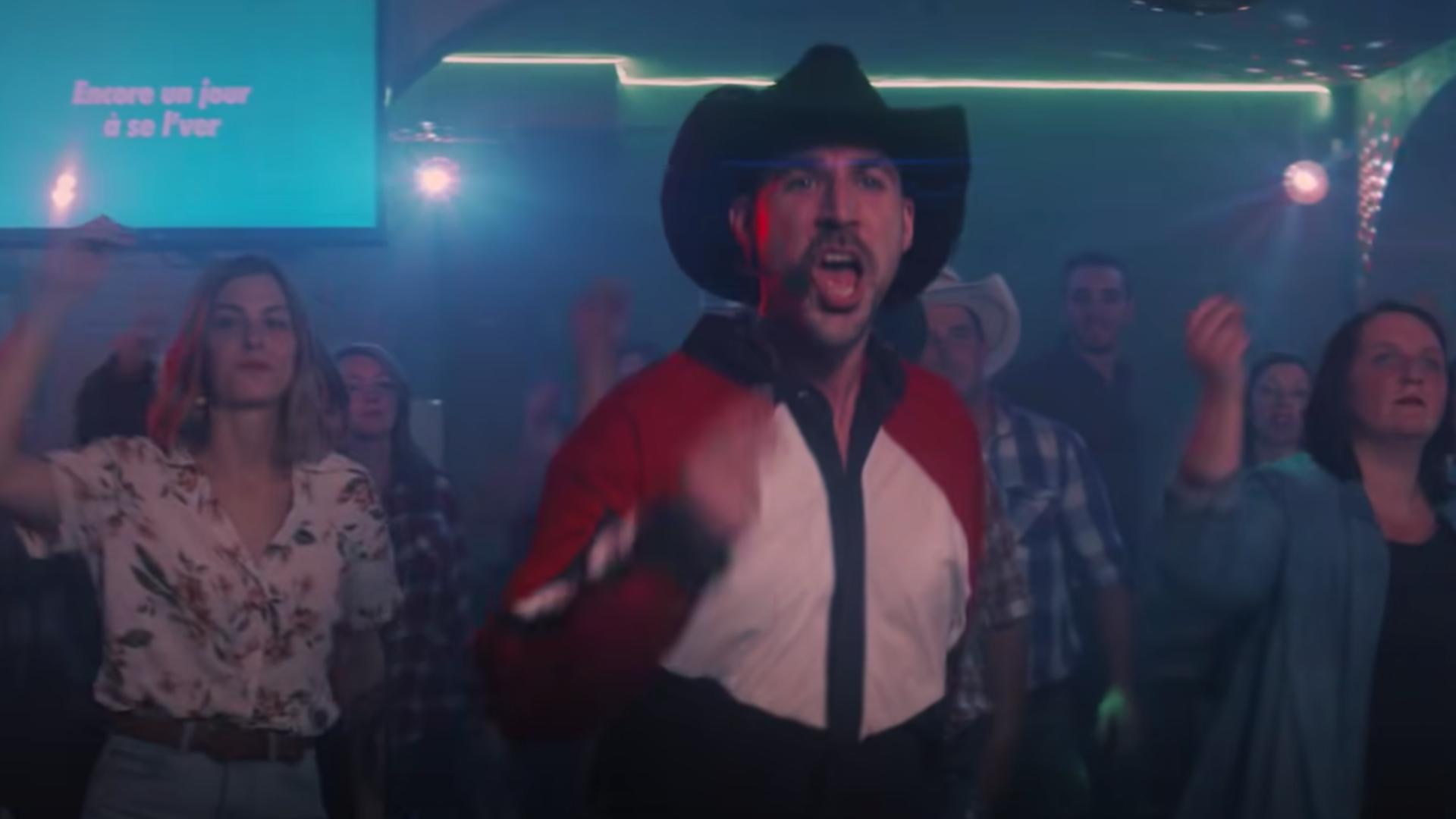 LES COWBOYS FRINGANTS - L'Amérique pleure